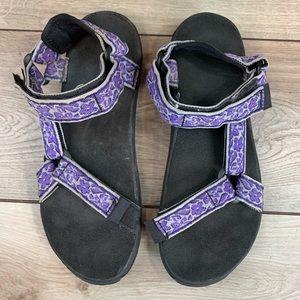 TEVA | Purple Flower Strap | Size 10